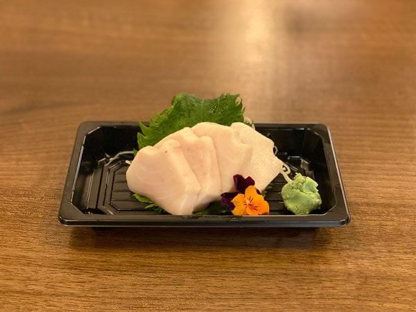 Butterfish sashimi