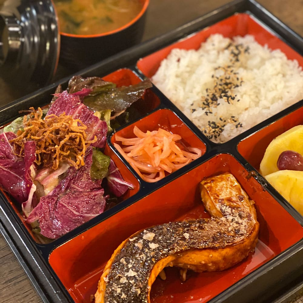 issho-ni japanese bento lunch